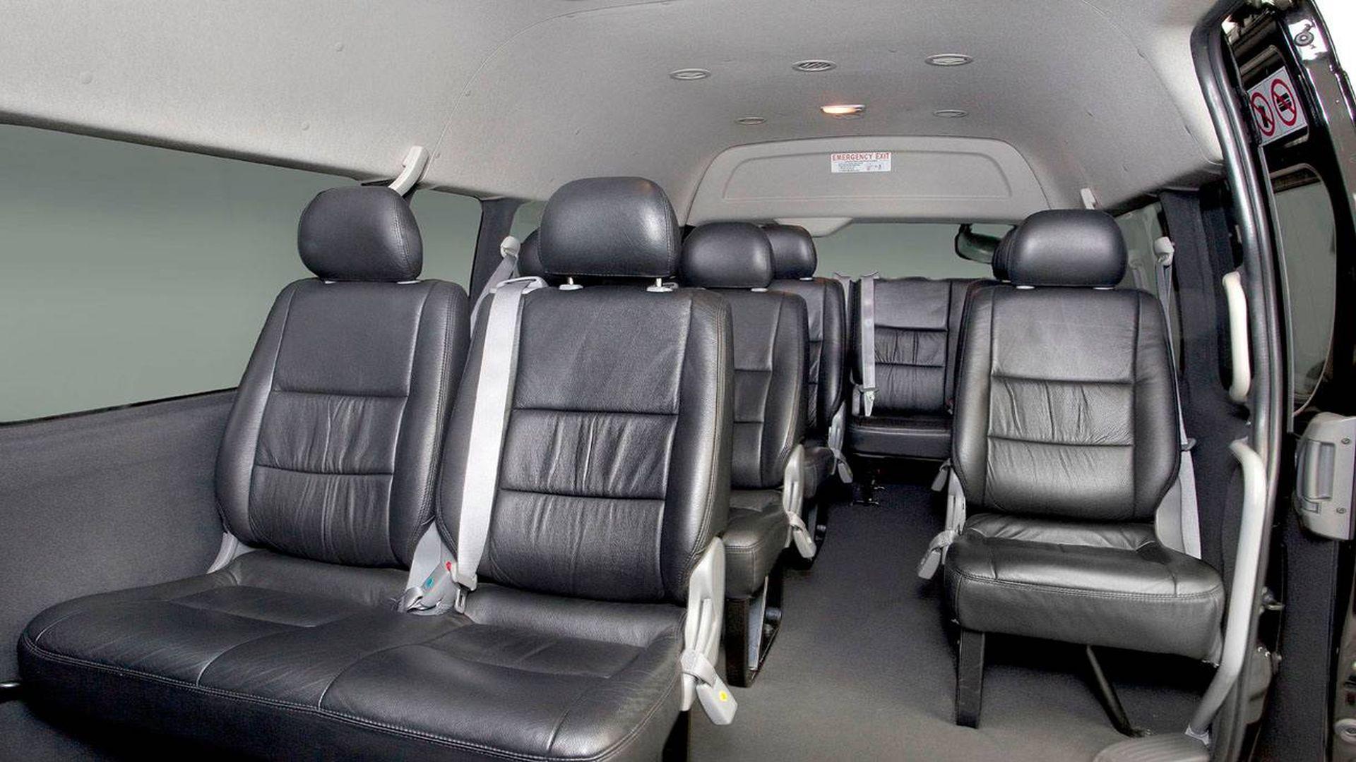 13 Seater Mini Bus Interior